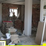 Vardagsrum under ombyggnad